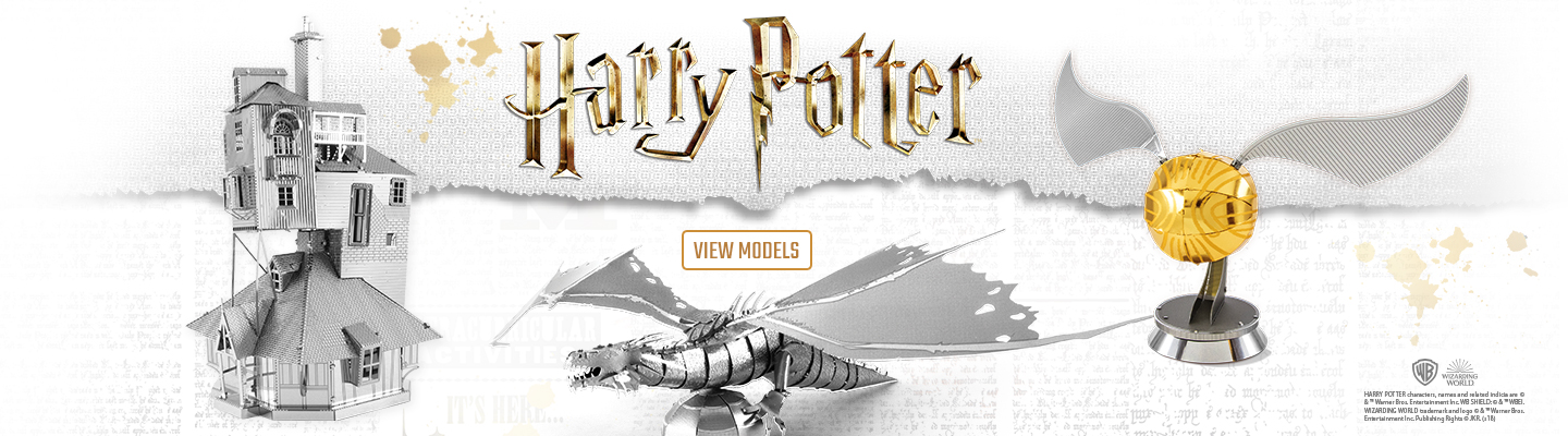Metal Earth Harry Potter Banner