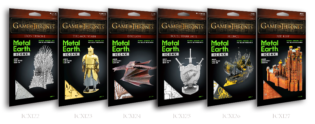 metalearth game of thrones