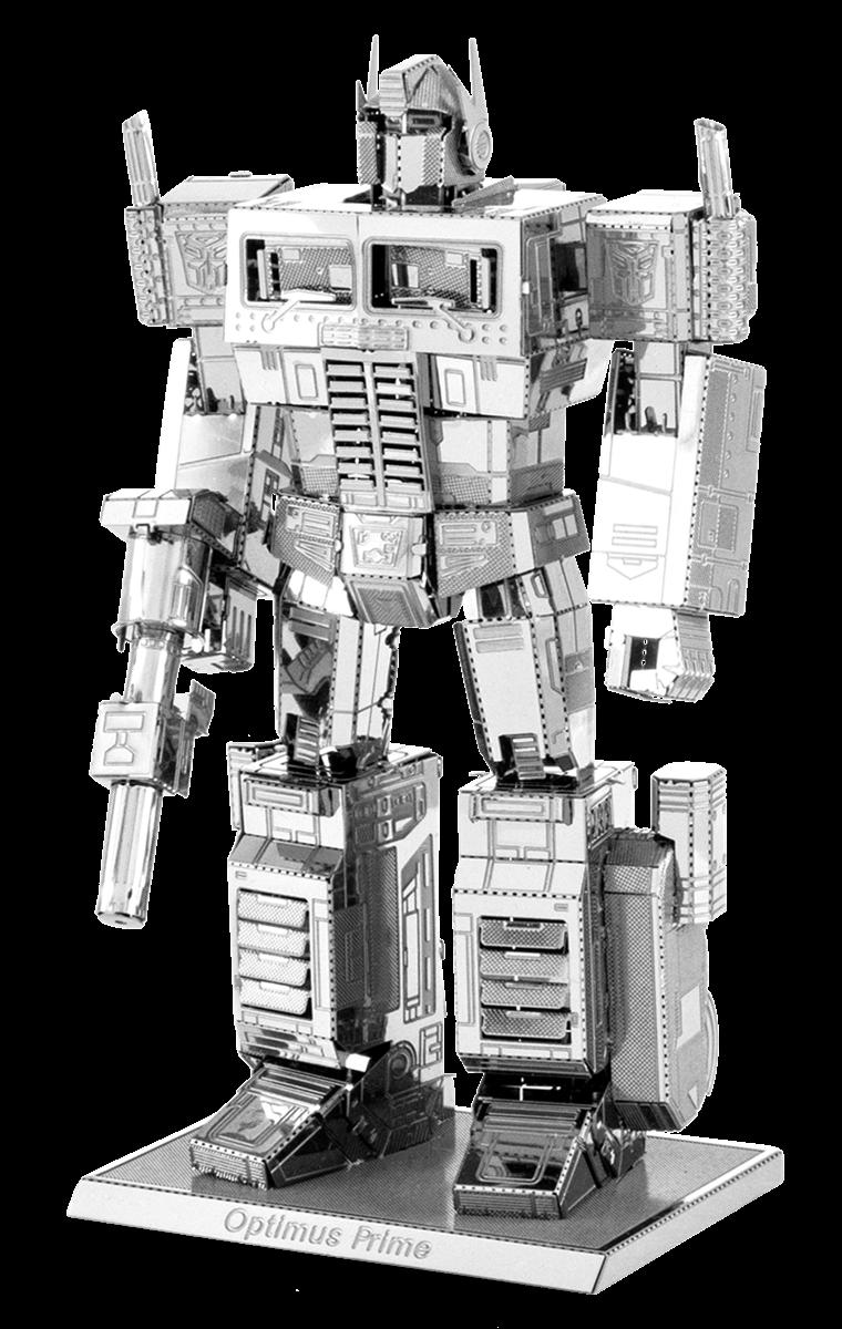metal earth transformer - optimus prime