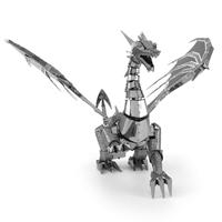 metal earth  Iconx silver dragon 3