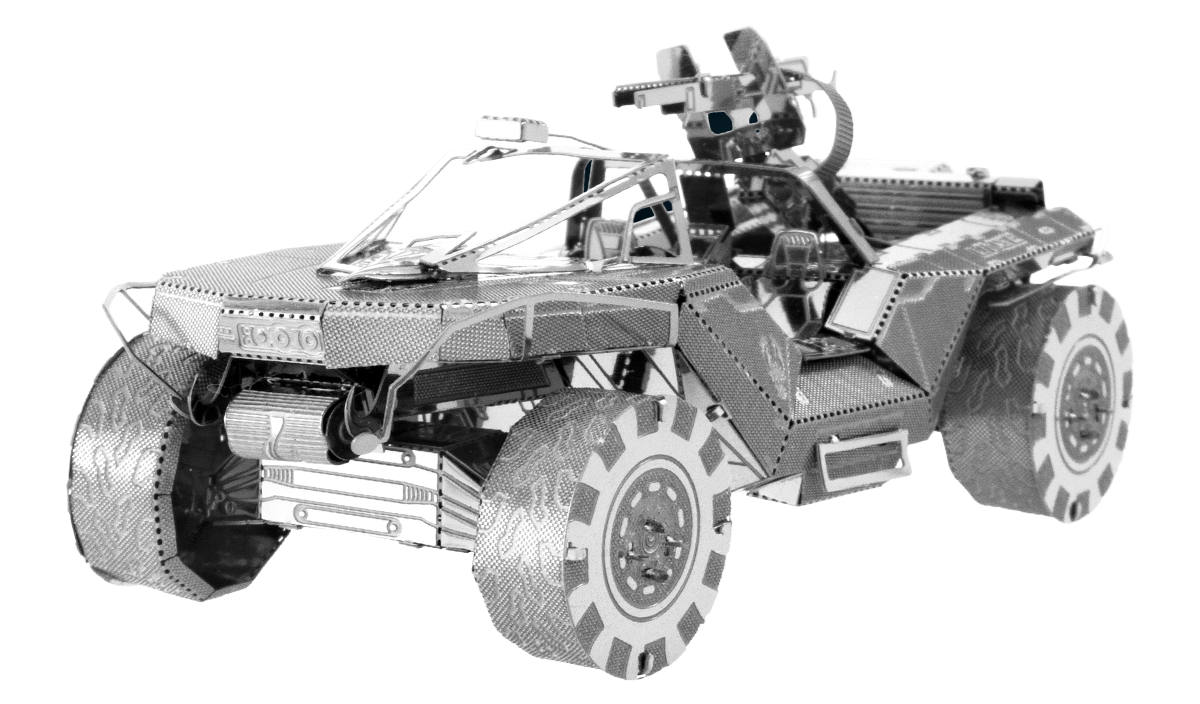 metal earth halo - unsc warthog