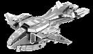 metal earth halo - unsc pelican
