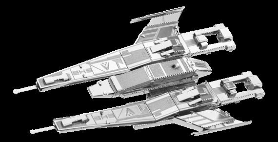 metal earth Mass Effect - sx3 alliance fighter