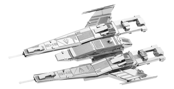 metal earth Mass Effect - sx3 alliance fighter