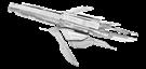 metal earth mass effect - turian cruiser