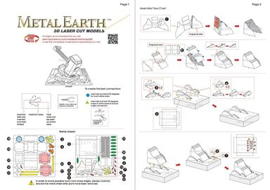 metal earth  marvel - mjolnir  instruction