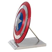 metal earth Marvel - captain america's shield 1