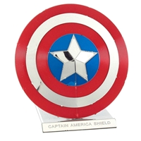 metal earth Marvel - captain america's shield 5