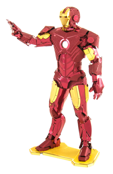 metal earth marvels - iron man