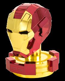 metal earth marvels - iron man helmet