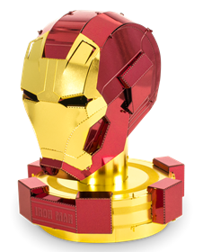 metal earth marvels - iron man helmet