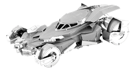 metal earth batman vs superman batmobile