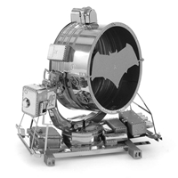 metal earth batman vs superman bat-signal 4