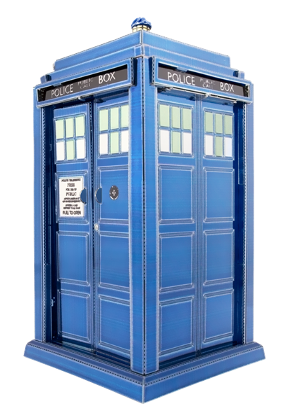 metal earth doctor who tardis