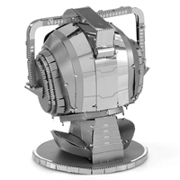 metal earth doctor who cyberman head 2