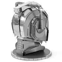 metal earth doctor who cyberman head 3