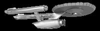 metal earth star trek ENTERPRISE NCC-1701