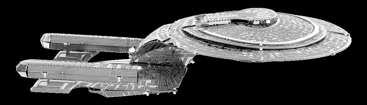 metal earth ships - uss enterprise 1707-D