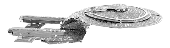 metal earth ships - uss enterprise 1707-D