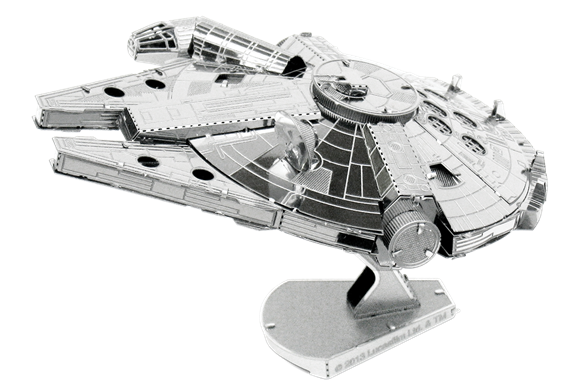 metal earth star war millennium falcon