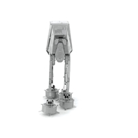 metal earth  the  Star Wars  imperial at-at 3