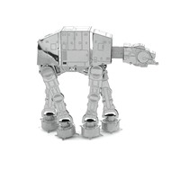 metal earth  the  Star Wars  imperial at-at 5
