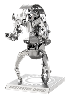 metal earth star wars - destroyer droid