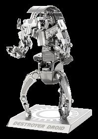 metal earth star wars - destroyer droid