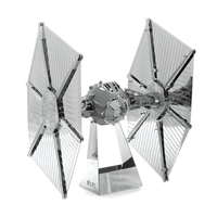 metal earth star wars - imperial tie fighter 4