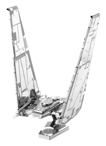 metal earth  the  Star Wars - kylo ren's command shuttle
