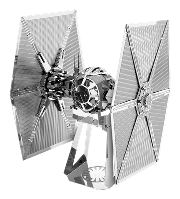 metal earth starwars first order special forces tie fighter