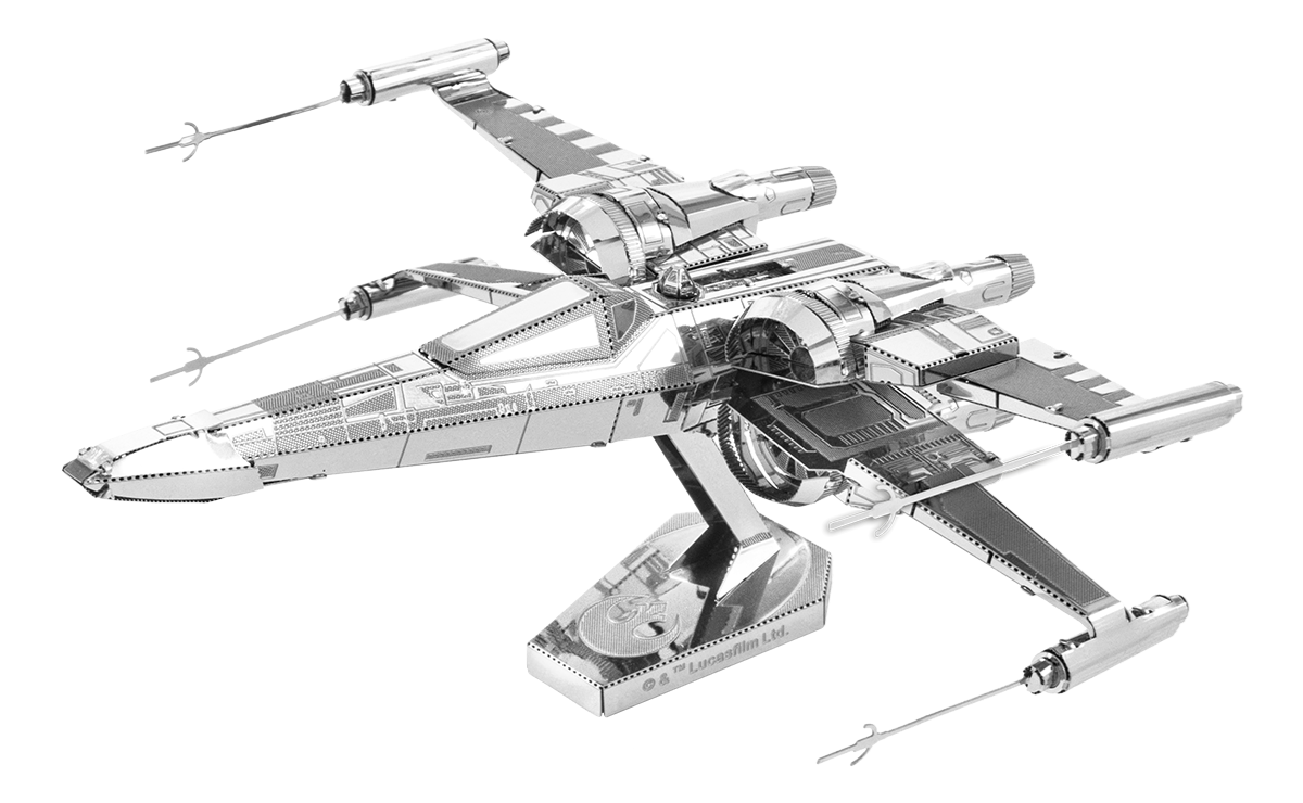 Metal Earth Star Wars - Poe Dameron's X-wing fighter