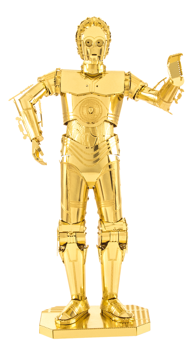 metal earth star wars - C-3 PO