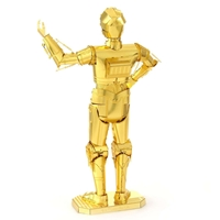 metal earth star wars - C-3 PO -3