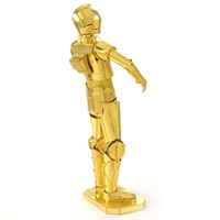 metal earth star wars - C-3 PO -4