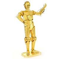 metal earth star wars - C-3 PO -5