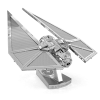 metal earth star wars - imperial tie striker  2