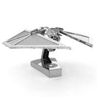 metal earth star wars - imperial tie striker  4