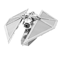 metal earth star wars - imperial tie striker  5