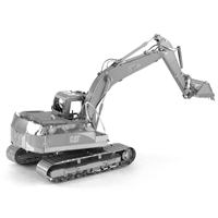 metal earth CAT excavator 3