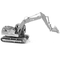 metal earth CAT excavator 4