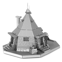 Metal Earth Harry Potter - Rubeus Hagrid Hut 4