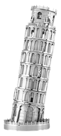 metal earth  Iconx  leaning tower of pisa
