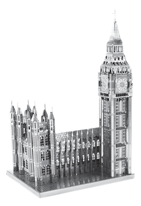 metal earth architecture - iconx big ben