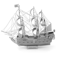 metal earth ships - iconx black pearl 1