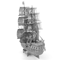 metal earth ships - iconx black pearl 2