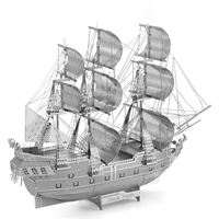 metal earth ships - iconx black pearl 3