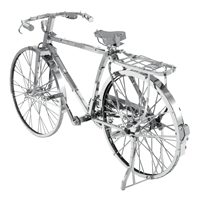 metal earth vehicles - iconx classic bicycle 3