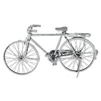 metal earth vehicles - iconx classic bicycle 4
