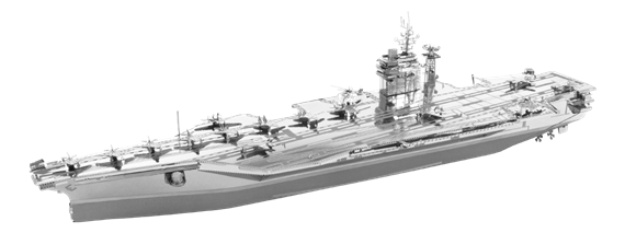 metal earth  Iconx USS theodore roosevelt cvn-71